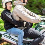 「子供と二人乗り」に安心をプラス! ダムトラックス・タンデムバッグ - ユニット_装着_dep_Z052276