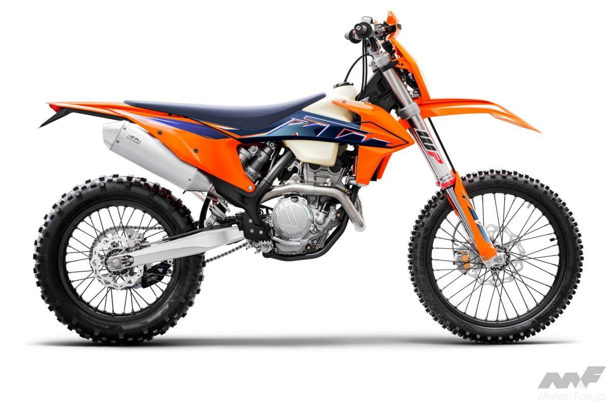 「KTM、MY2022エンデューロモデル12機種を発表」の9枚めの画像