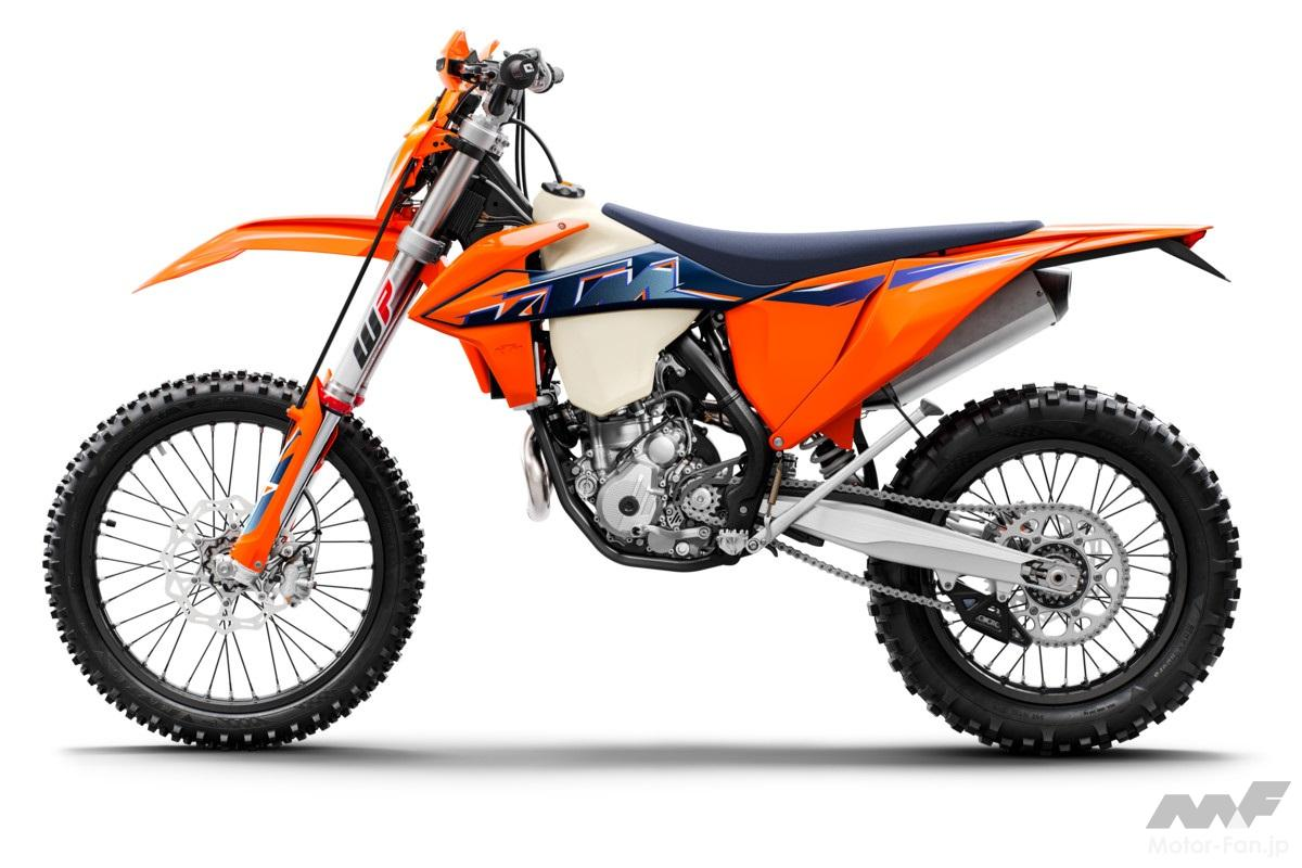 「KTM、MY2022エンデューロモデル12機種を発表」の11枚めの画像