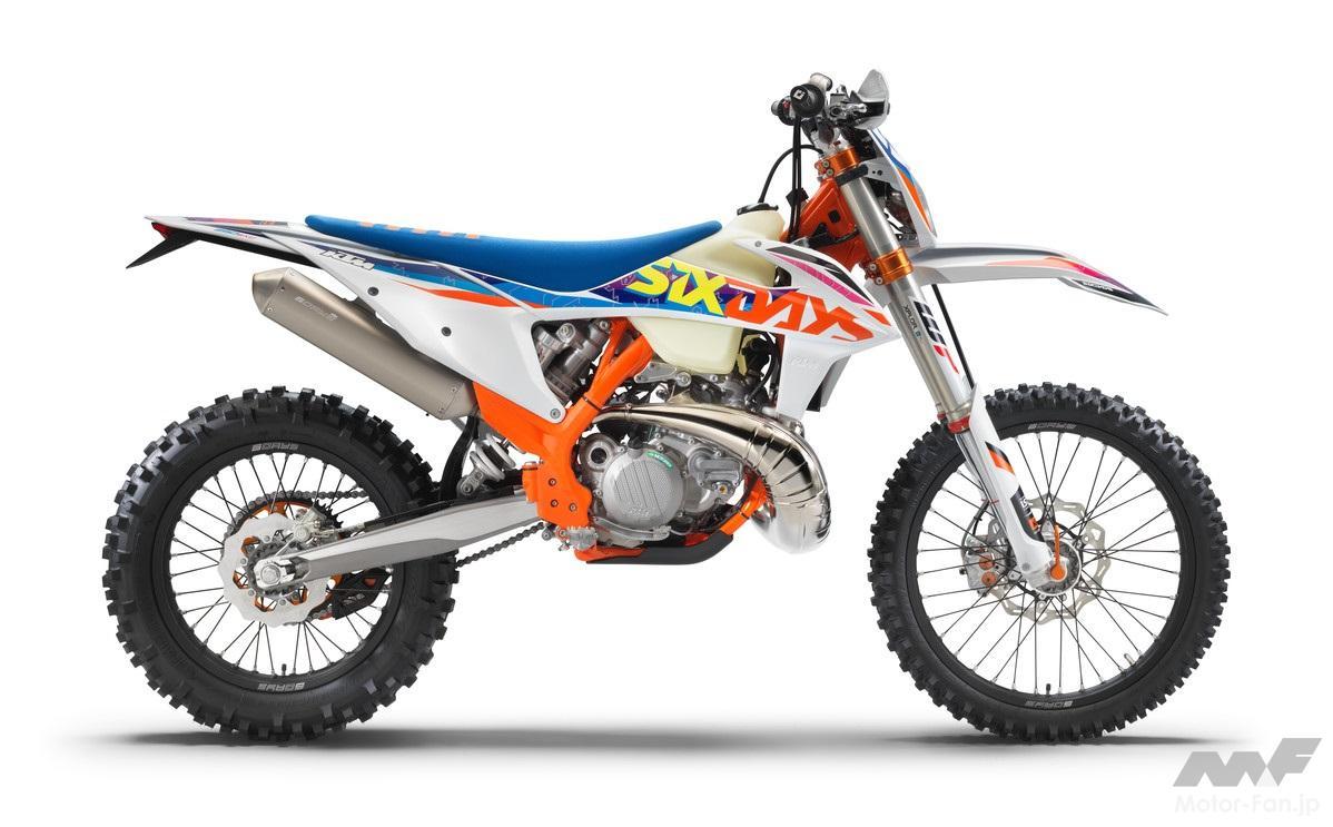 「KTM、MY2022エンデューロモデル12機種を発表」の5枚めの画像