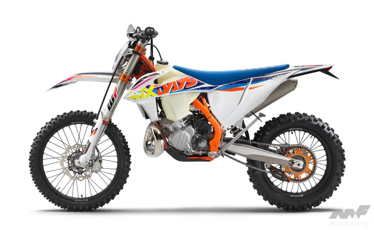 「KTM、MY2022エンデューロモデル12機種を発表」の7枚めの画像