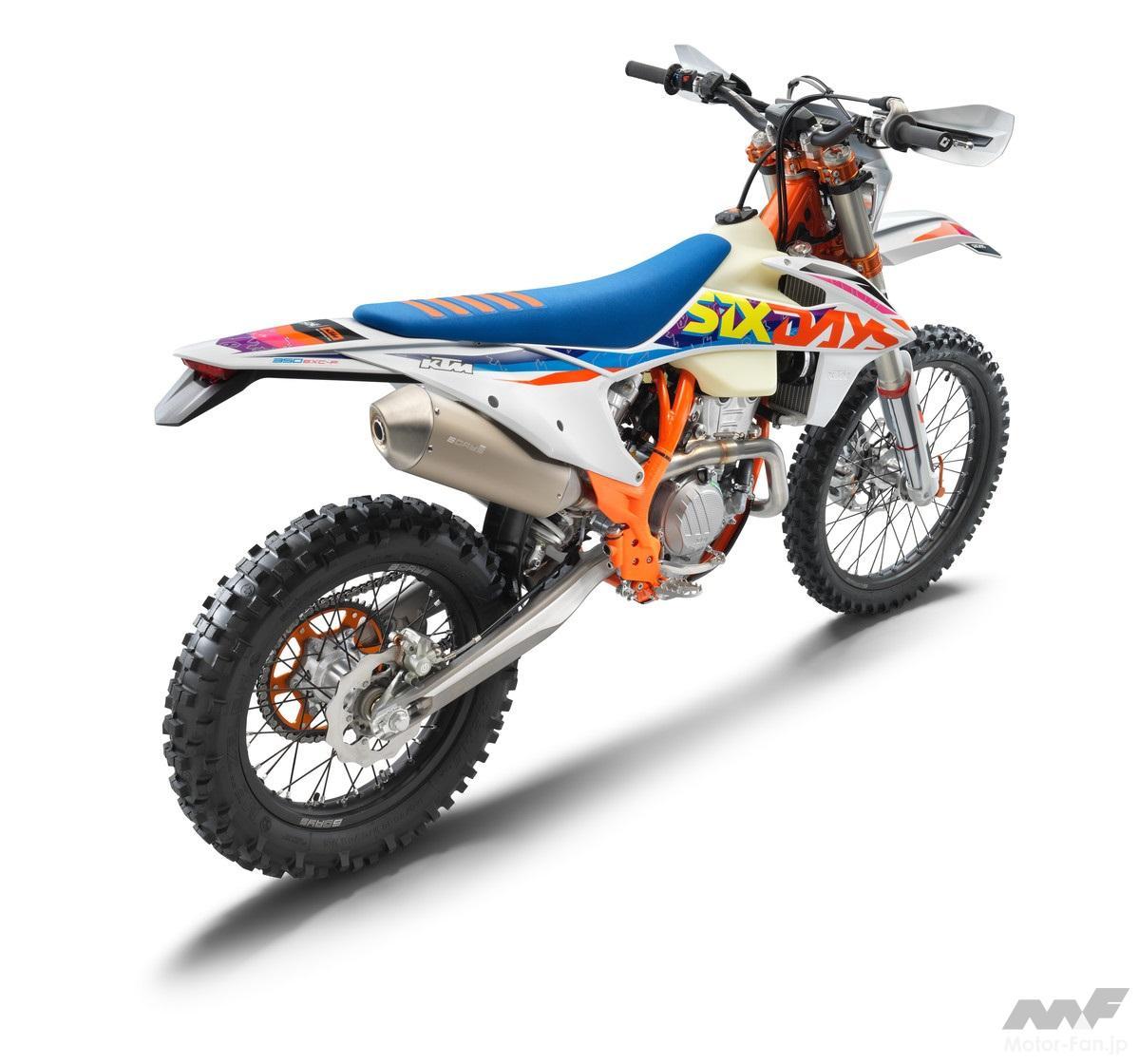 「KTM、MY2022エンデューロモデル12機種を発表」の12枚めの画像