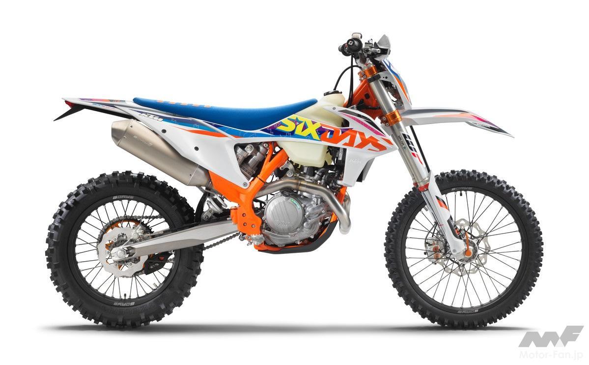 「KTM、MY2022エンデューロモデル12機種を発表」の14枚めの画像