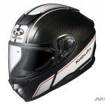 空力良し、軽さ良し! オージーケーカブトのカーボンヘルメット、AEROBLADE-5Rに 新柄「SM-1」登場 - th_aeroblade5r_sm1_blackwhite_angle2-1024x927-1