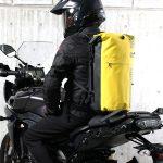 雨に強い!バイクに最適!ターポリン素材の防水デイバッグ|ドッペルギャンガー - ターポリンデイパック-4