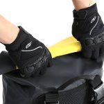 雨に強い!バイクに最適!ターポリン素材の防水デイバッグ|ドッペルギャンガー - ターポリンデイパック-5