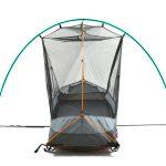 ソロツーリング、ソロキャンプにベストなサイズ! 収納サイズ45cmのテント付きコット ドッペルギャンガー・バイクツーリングコットテント - コットテント-5