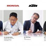 ピアッジオグループ、ホンダ、KTM、ヤマハの4社間で二輪車および小型電気自動車用交換式バッテリーコンソーシアム(共同事業団体)合意書を締結 -