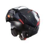 快適性を追求した新世代システムヘルメット「RYUKI(リュウキ)」に新柄「FEEL( フィール)」登場|KABUTO - ryuki_feel_black-red_chinopen-1