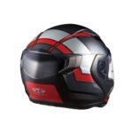 快適性を追求した新世代システムヘルメット「RYUKI(リュウキ)」に新柄「FEEL( フィール)」登場|KABUTO - ryuki_feel_black-red_side