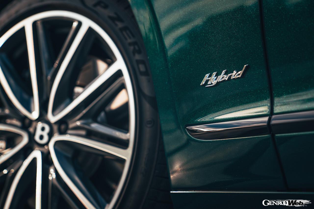 EVモードで40km・最大航続距離700kmを実現、「ベントレー フライングスパー ハイブリッド」がデビュー