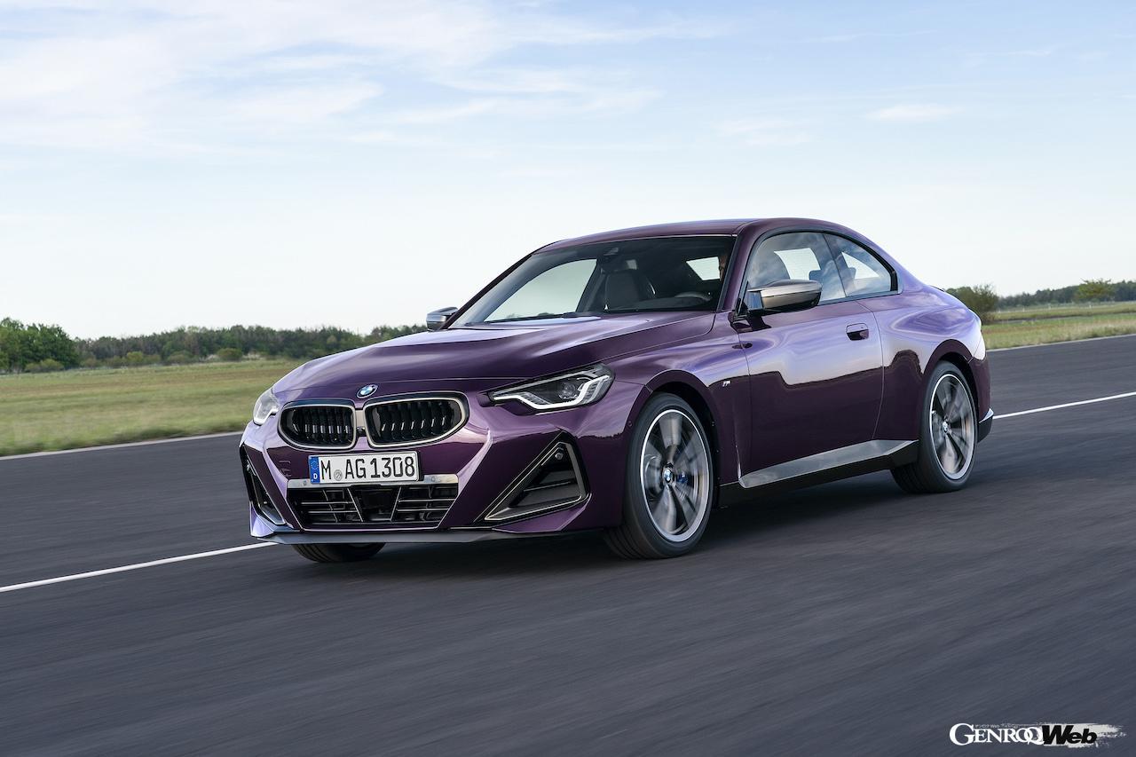 「現代に蘇った2002、新型「BMW 2シリーズ クーペ 」がグッドウッドでワールドプレミア 【動画】」の5枚目の画像