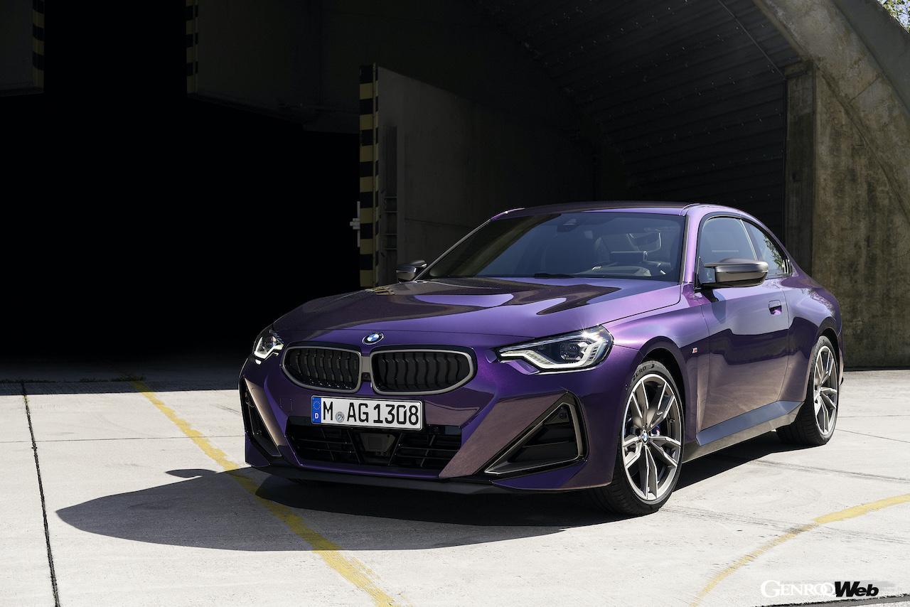 「現代に蘇った2002、新型「BMW 2シリーズ クーペ 」がグッドウッドでワールドプレミア 【動画】」の8枚目の画像