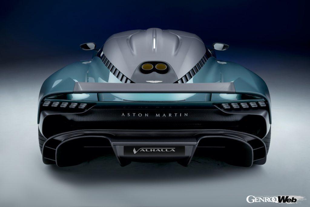 アストンマーティン、初のミッドエンジンPHEVスーパースポーツ「ヴァルハラ(Valhalla)」の生産仕様を公開