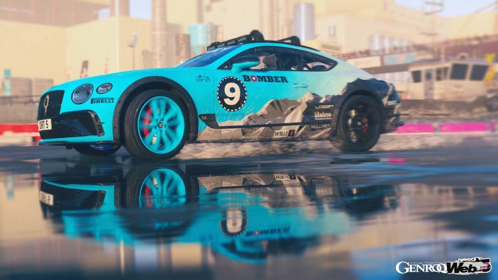 ベントレー コンチネンタル GT アイスレースカー、人気レースゲームの『DIRT 5』に登場