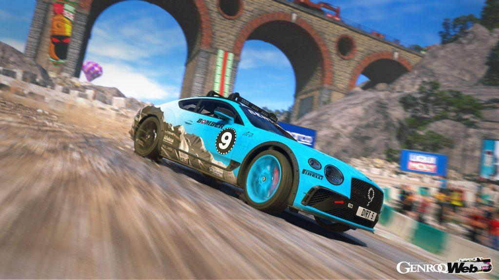 ベントレー コンチネンタルGT アイスレースカー、人気レースゲームの『DIRT 5』に登場