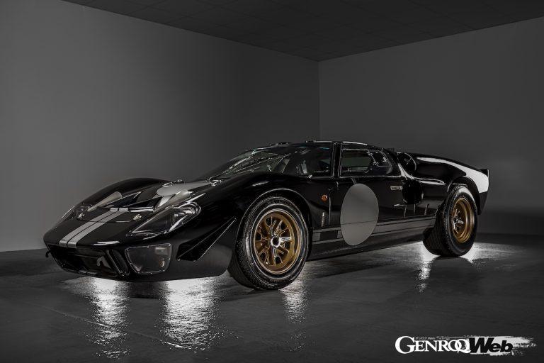 ヒストリックEVを手がけるエバラティ、アメリカのスーパーフォーマンスと協力し電動「GT40」を開発