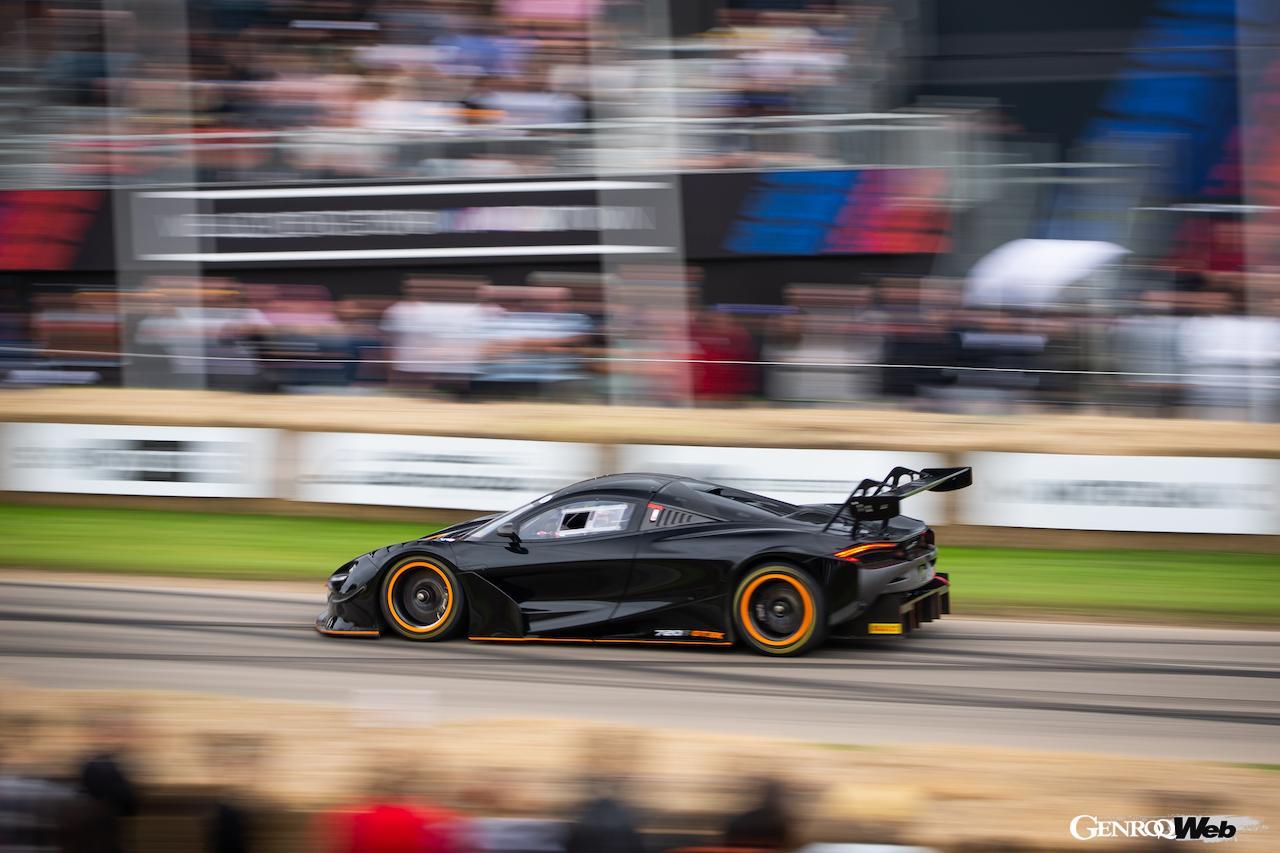 「マクラーレン 720S GT3X、グッドウッドで開催された「タイムド・シュートアウト・ファイナル」で優勝」の2枚目の画像