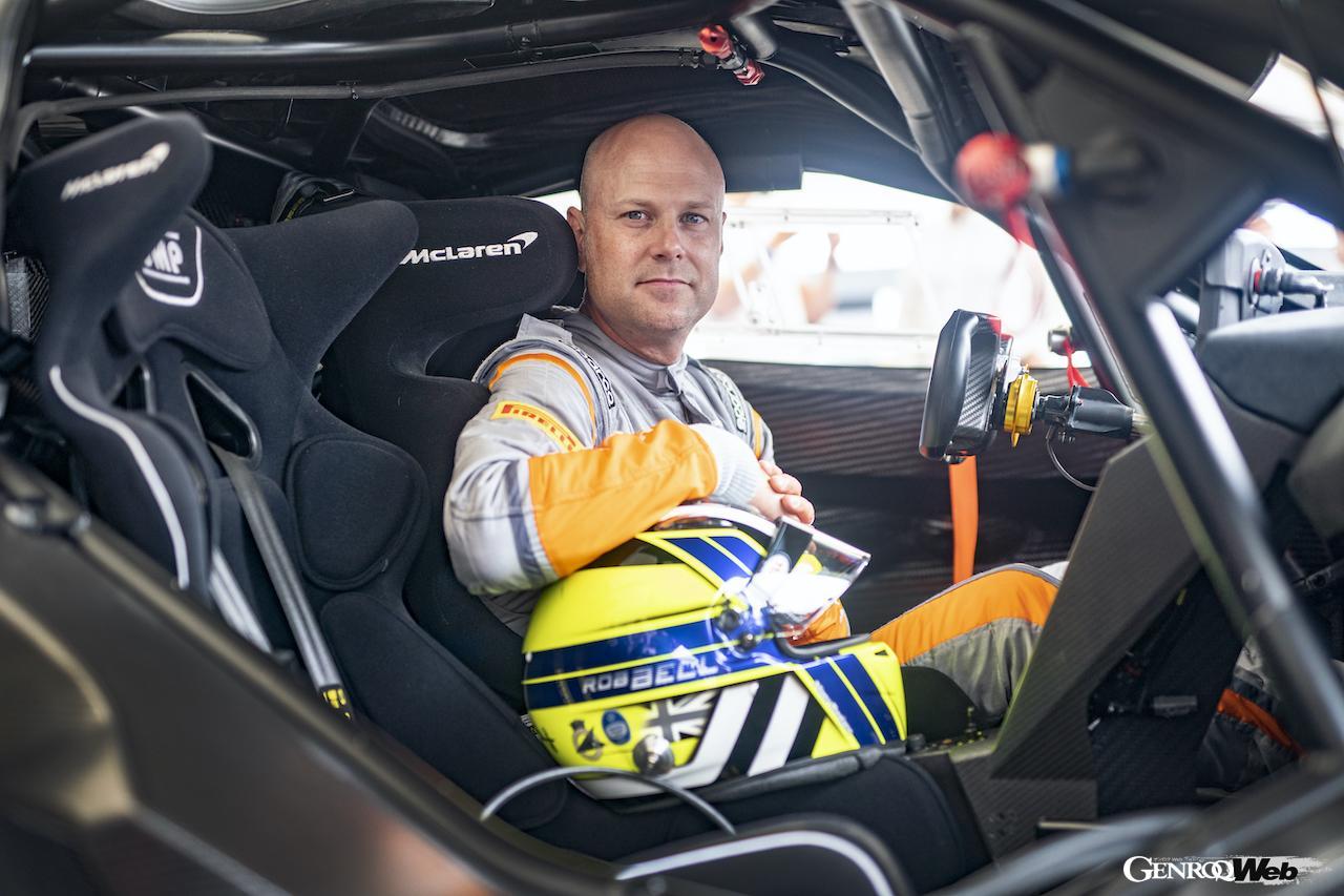 「マクラーレン 720S GT3X、グッドウッドで開催された「タイムド・シュートアウト・ファイナル」で優勝」の3枚目の画像