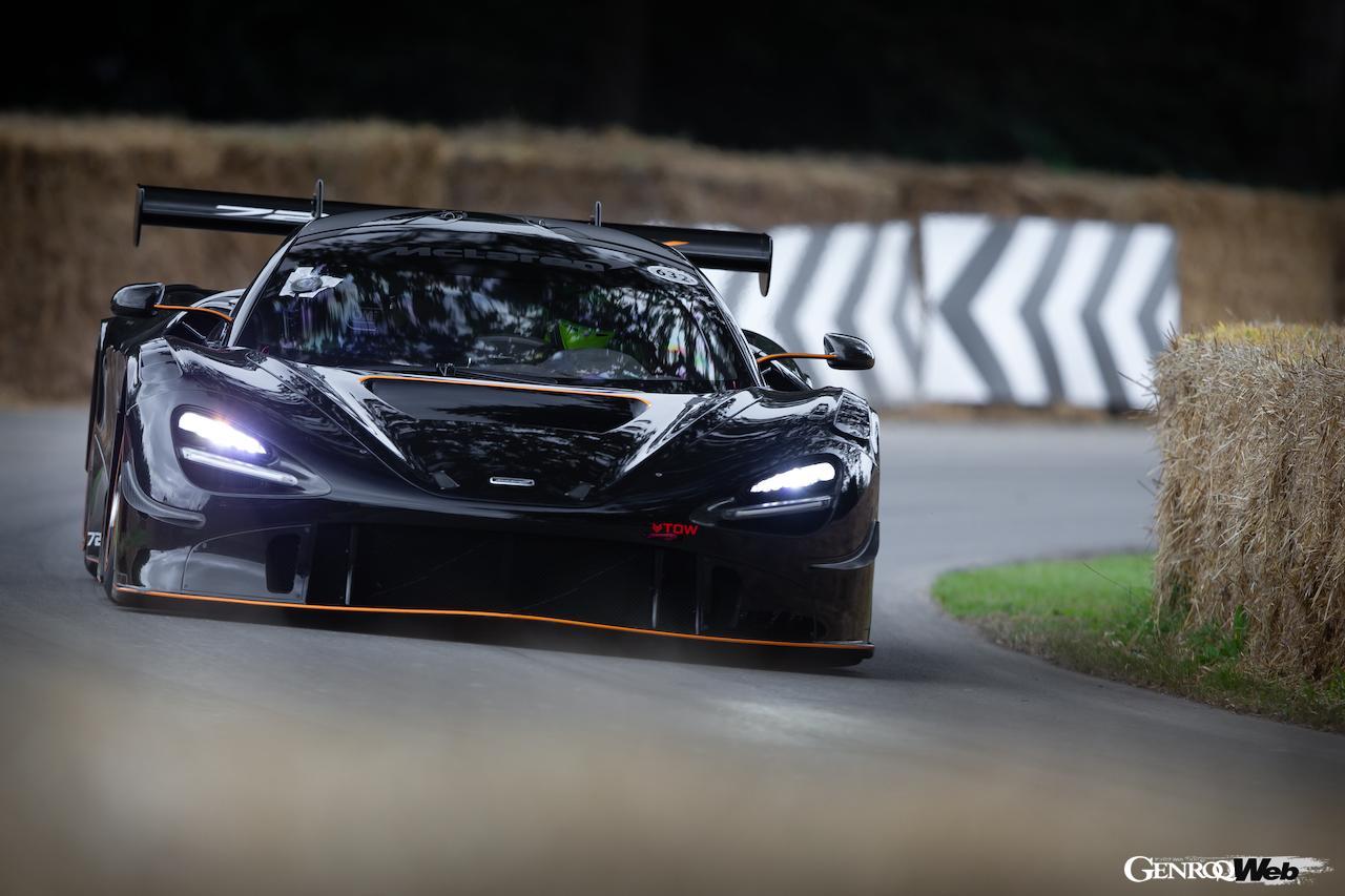 「マクラーレン 720S GT3X、グッドウッドで開催された「タイムド・シュートアウト・ファイナル」で優勝」の4枚目の画像