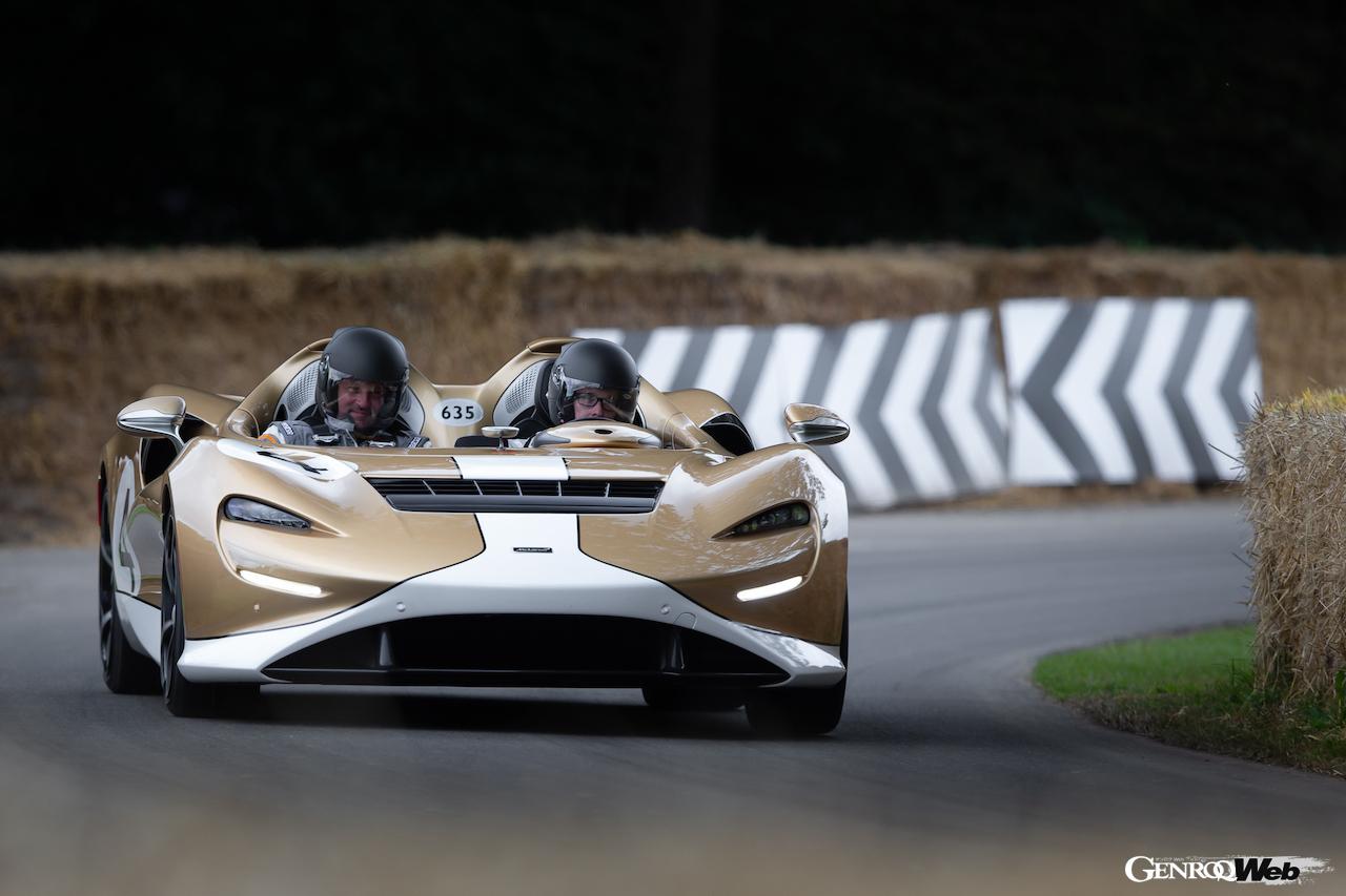 「マクラーレン 720S GT3X、グッドウッドで開催された「タイムド・シュートアウト・ファイナル」で優勝」の6枚目の画像