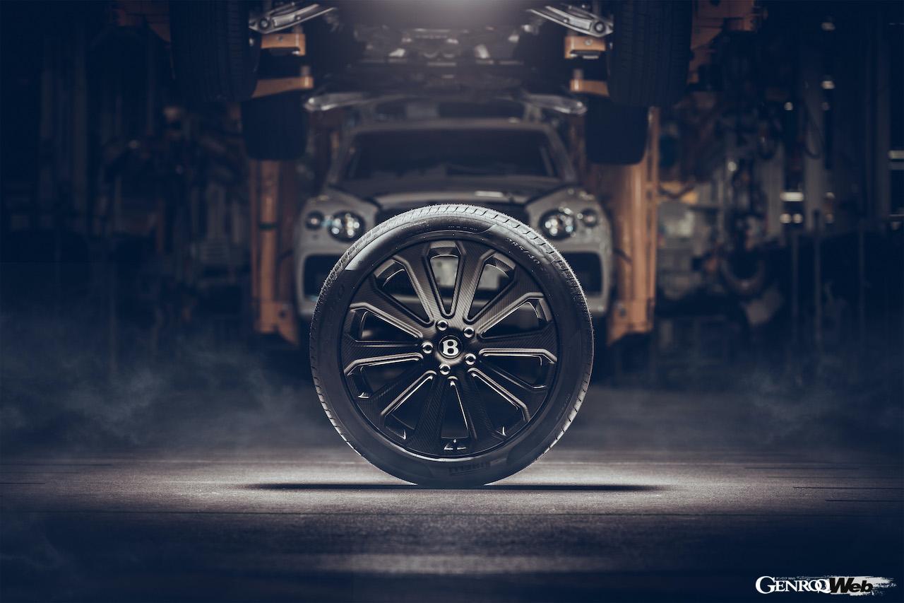 6kgの軽量化を実現、ベントレー・マリナーがベンテイガ専用22インチ・カーボンファイバー・ホイールを開発