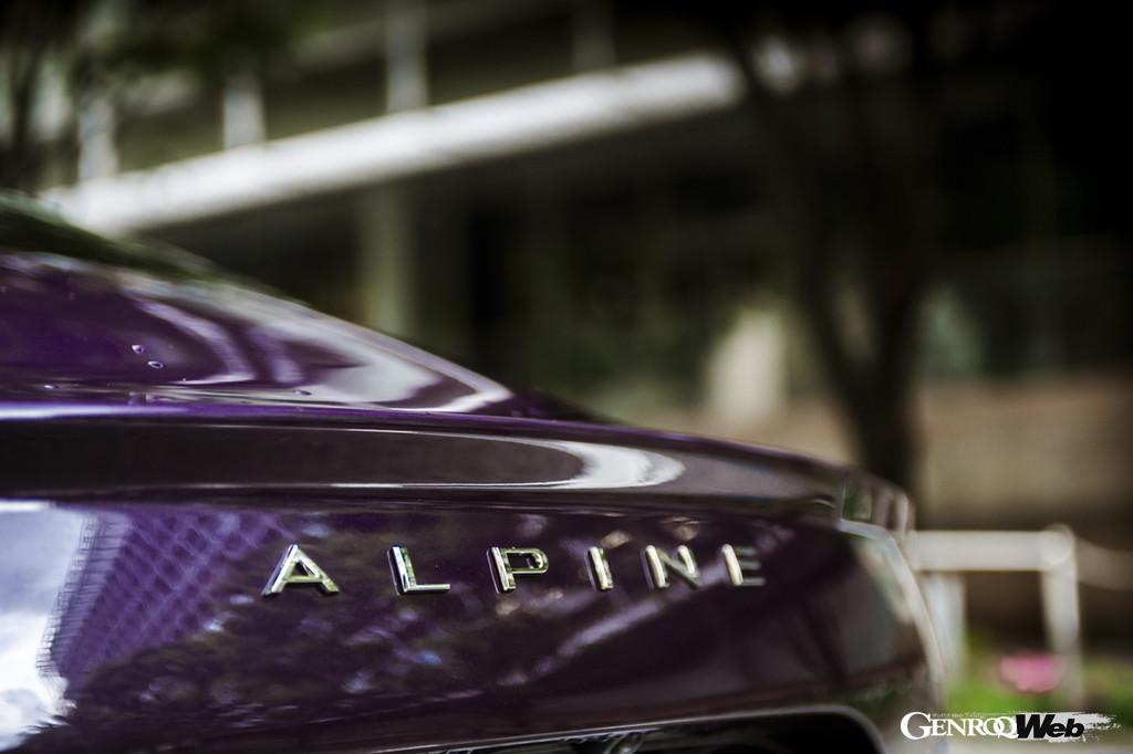 「アルピーヌ A110を自分色に染め上げる。往年のラリーファンも納得のオーダーとは?」の4枚目の画像