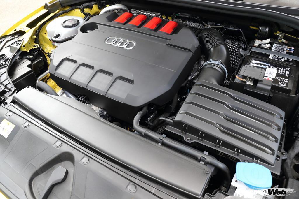 アウディ S3 スポーツバックのエンジン