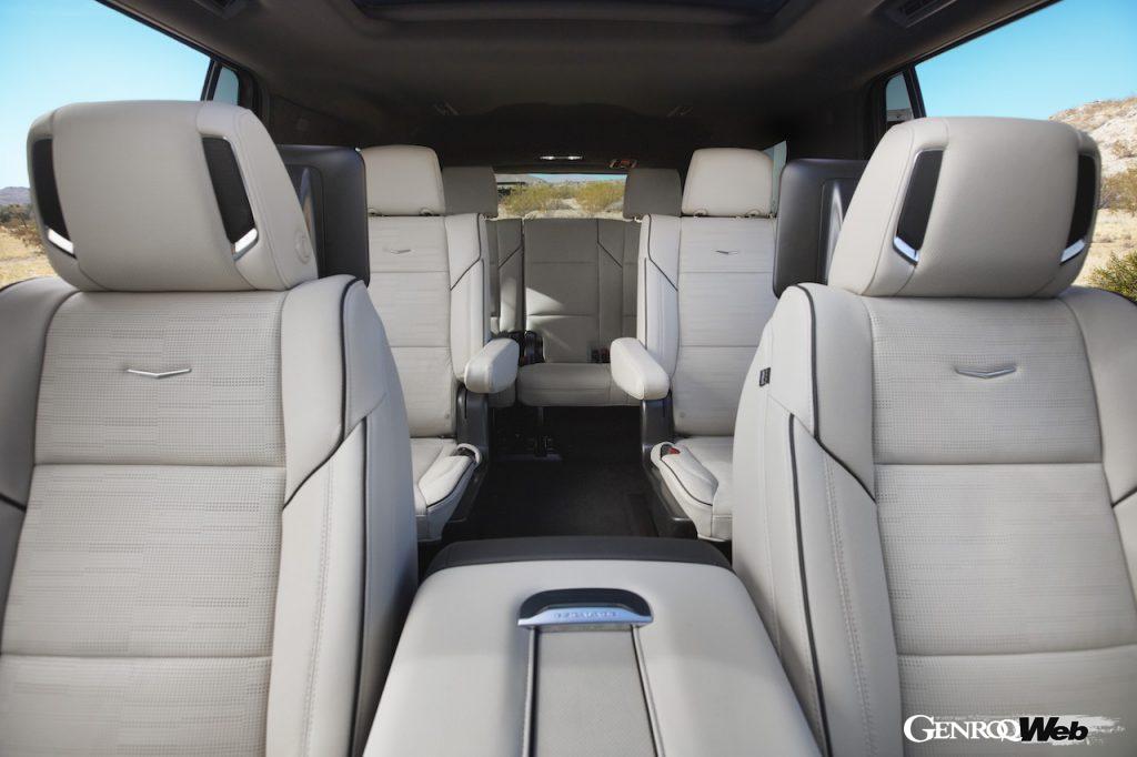 新型キャデラック エスカレードのキャビン