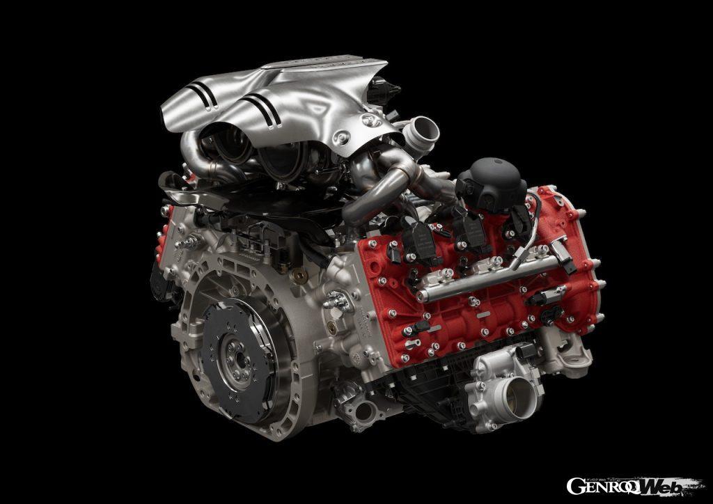フェラーリ 296GTBのエンジン