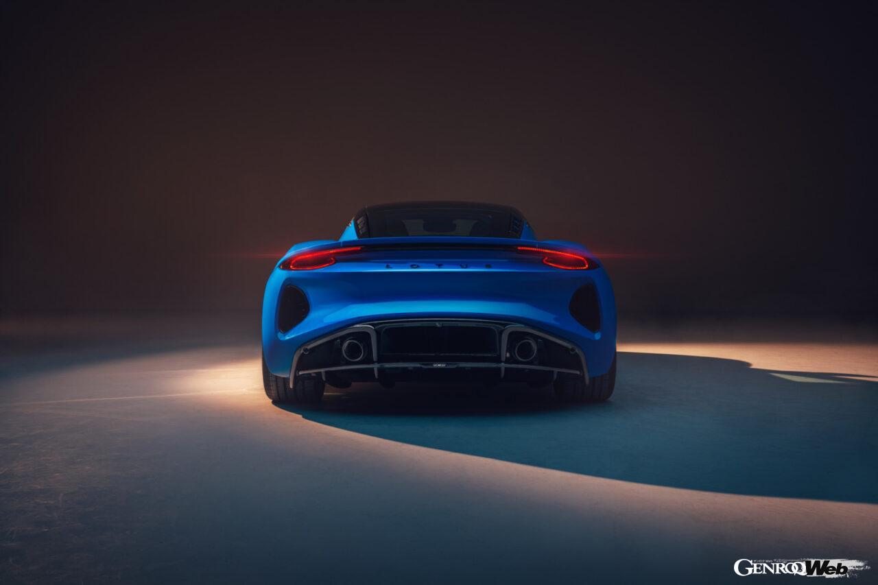 「ロータス エミーラが全貌を公開! 最後の内燃機関にはトヨタ製V6とAMG製直4ターボの2種類を用意」の12枚目の画像