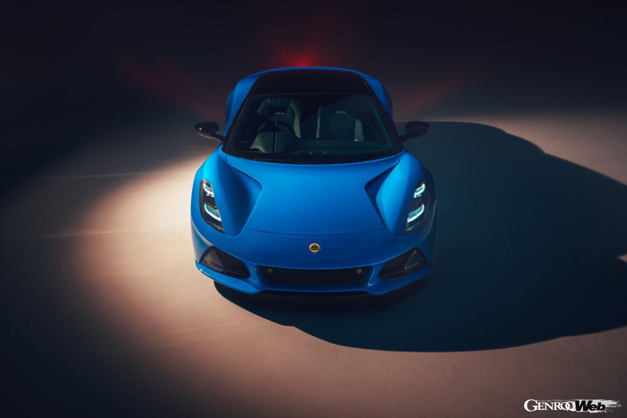 「ロータス エミーラが全貌を公開! 最後の内燃機関にはトヨタ製V6とAMG製直4ターボの2種類を用意」の10枚目の画像