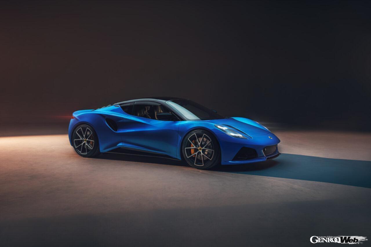 「ロータス エミーラが全貌を公開! 最後の内燃機関にはトヨタ製V6とAMG製直4ターボの2種類を用意」の7枚目の画像
