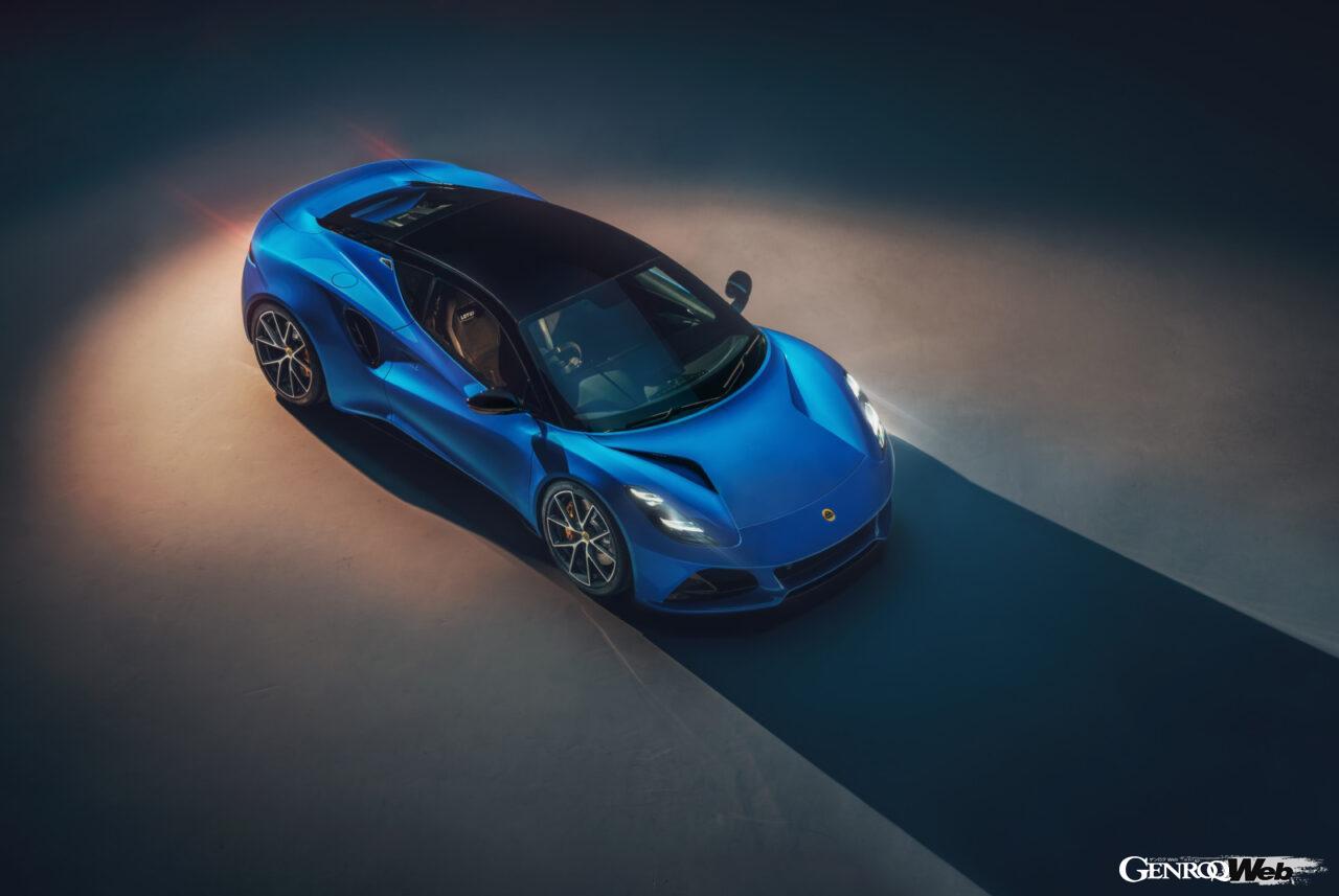 「ロータス エミーラが全貌を公開! 最後の内燃機関にはトヨタ製V6とAMG製直4ターボの2種類を用意」の8枚目の画像