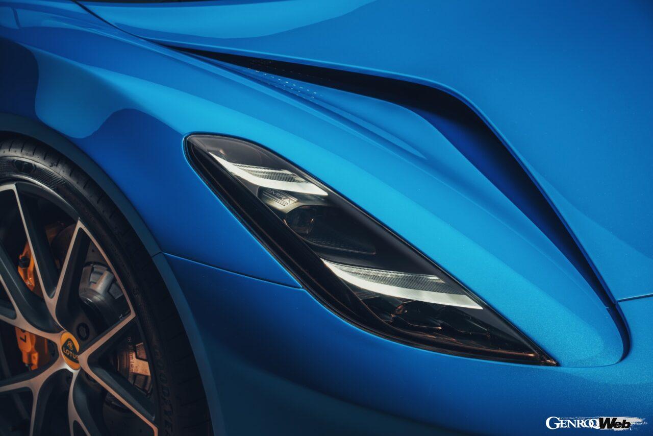 「ロータス エミーラが全貌を公開! 最後の内燃機関にはトヨタ製V6とAMG製直4ターボの2種類を用意」の23枚目の画像
