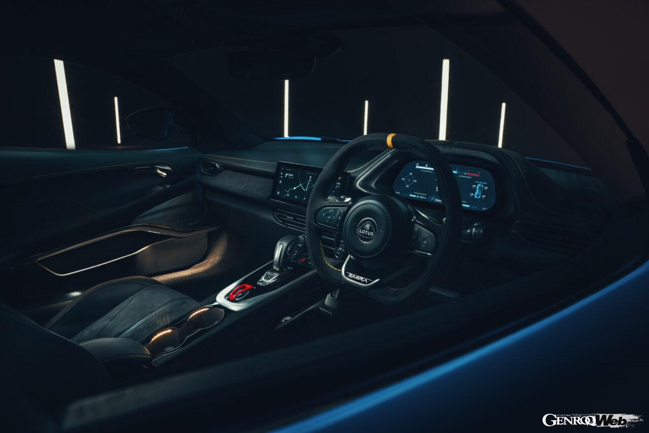 「ロータス エミーラが全貌を公開! 最後の内燃機関にはトヨタ製V6とAMG製直4ターボの2種類を用意」の21枚目の画像