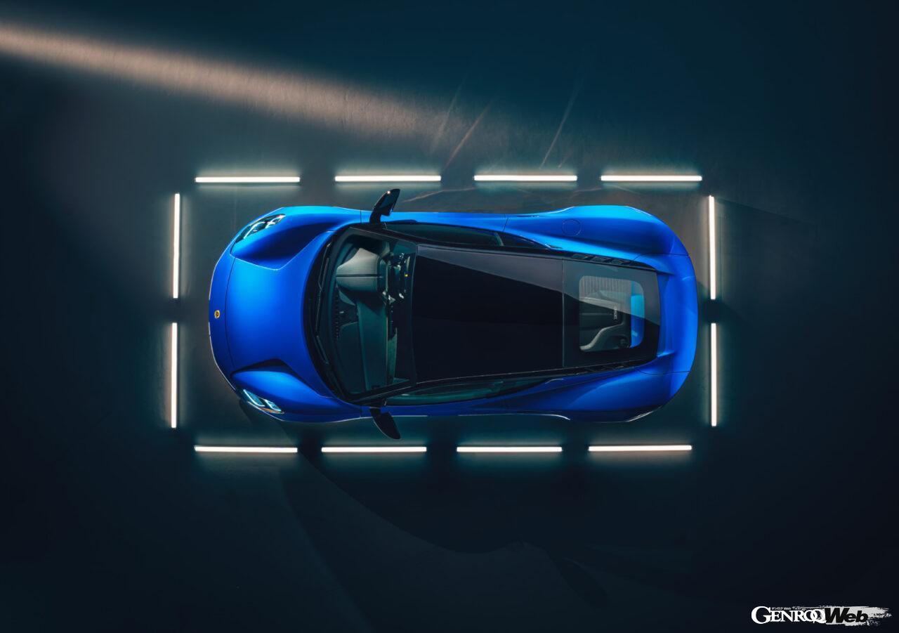 「ロータス エミーラが全貌を公開! 最後の内燃機関にはトヨタ製V6とAMG製直4ターボの2種類を用意」の1枚目の画像