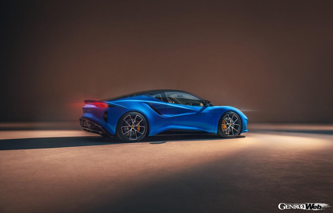 「ロータス エミーラが全貌を公開! 最後の内燃機関にはトヨタ製V6とAMG製直4ターボの2種類を用意」の19枚目の画像
