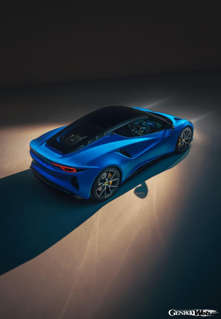 「ロータス エミーラが全貌を公開! 最後の内燃機関にはトヨタ製V6とAMG製直4ターボの2種類を用意」の18枚目の画像