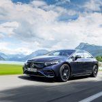 メルセデスのフラッグシップEV、EQS初試乗! 渡辺慎太郎がスイスの試乗会で実感した「らしさ」とは - GQW_Mercedes-Benz_EQS_580_4MATIC_072829