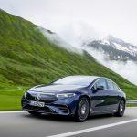 メルセデスのフラッグシップEV、EQS初試乗! 渡辺慎太郎がスイスの試乗会で実感した「らしさ」とは - GQW_Mercedes-Benz_EQS_580_4MATIC_072830