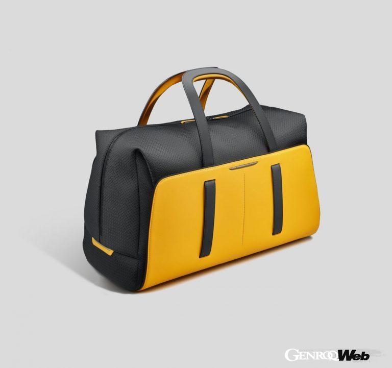 ロールス・ロイスの「ブラック・バッジ エスケイピズム ラゲッジ コレクション」。ウィークエンドバッグ