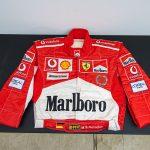 ヤフオク!で絶版名車を購入するチャンス! 希少車&希少グッズが目白押しの第4回「コレクションカーオークション」開催 - GQW_ミハエル・シューマッハ着用 2005 F1 ハンガリーGP レーシングスーツ