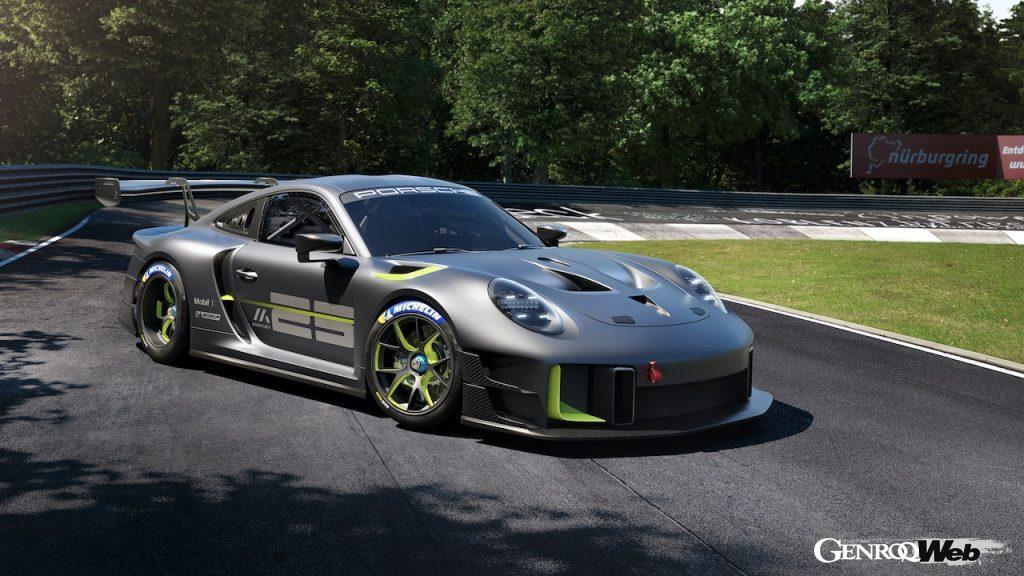 ポルシェとマンタイ・レーシングの25周年記念モデル、「911 GT2 RS クラブスポーツ 25」がデビュー