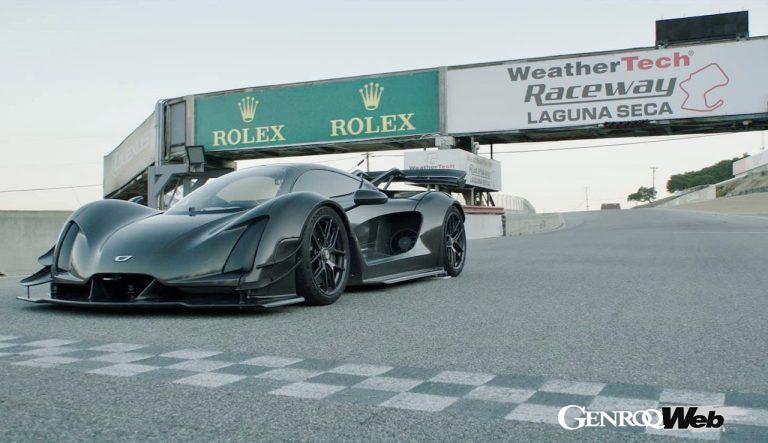 ハイブリッドハイパースポーツ「ジンガー 21C」、ラグナセカで市販車の新たなラップレコードを樹立