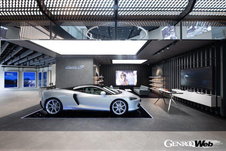 マクラーレン・オートモーティブ、設立10周年に100店舗目の正規販売代理店を中国にオープン