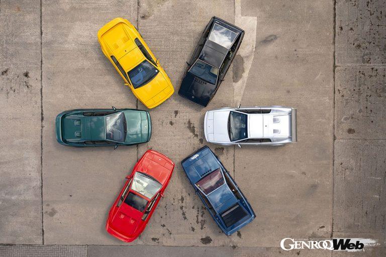 貴重な「ロータス エスプリ」のスペシャルエディション6台が、オンラインオークションに出品