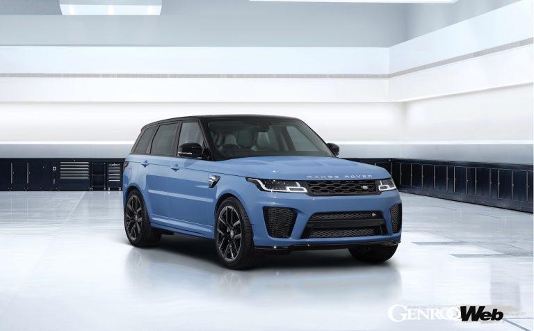 最強・最速SUVに星のような輝きを持つ新色を纏った、「レンジローバー スポーツ SVR アルティメット エディション」が登場