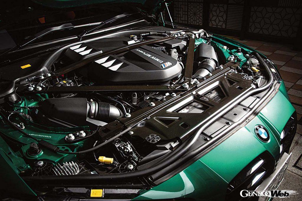 BMW M3 コンペティションのエンジン