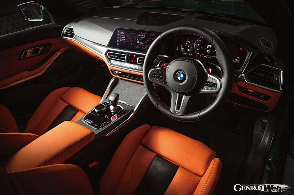 BMW M3 コンペティションのインテリア